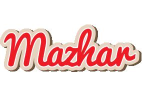 Mazhar chocolate logo