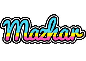 Mazhar circus logo