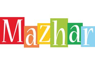 Mazhar colors logo
