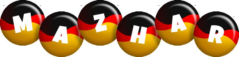 Mazhar german logo