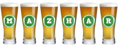 Mazhar lager logo