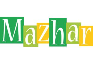 Mazhar lemonade logo