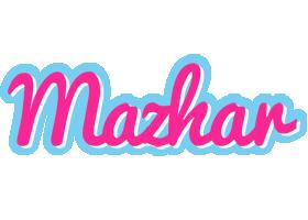 Mazhar popstar logo