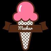 Mazhar premium logo