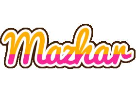 Mazhar smoothie logo