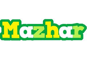 Mazhar soccer logo
