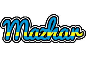 Mazhar sweden logo