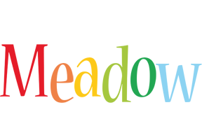 Meadow birthday logo