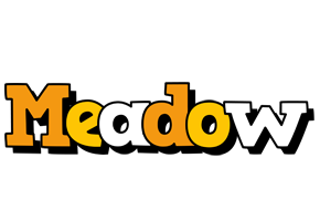 Meadow cartoon logo