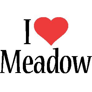 Meadow i-love logo