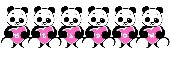 Meadow love-panda logo