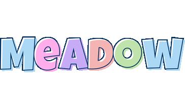 Meadow pastel logo