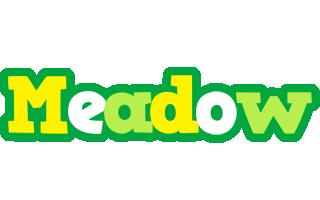 Meadow soccer logo