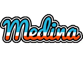 Medina america logo