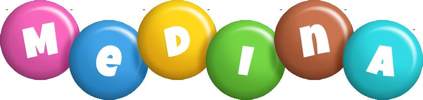 Medina candy logo