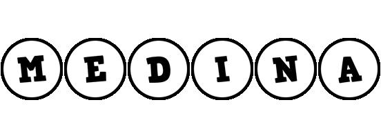 Medina handy logo