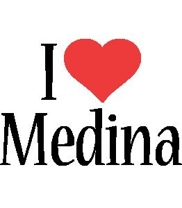 Medina i-love logo