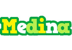Medina soccer logo