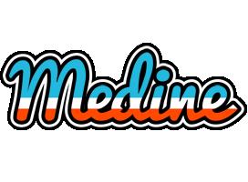 Medine america logo