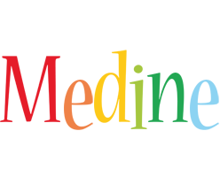 Medine birthday logo