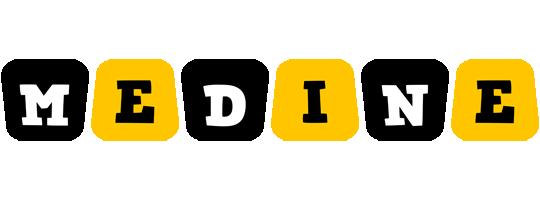 Medine boots logo