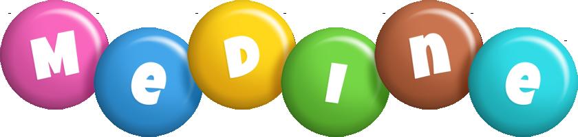 Medine candy logo