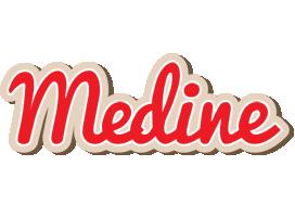 Medine chocolate logo