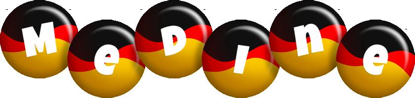 Medine german logo