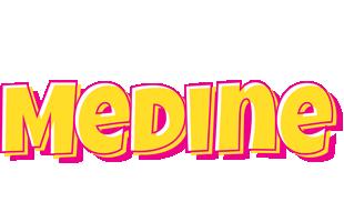 Medine kaboom logo