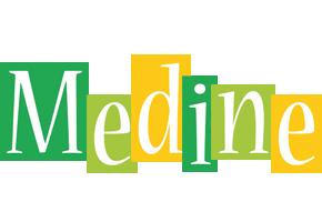 Medine lemonade logo