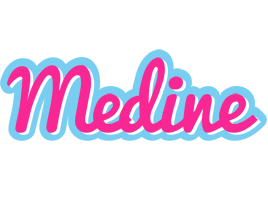 Medine popstar logo