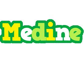 Medine soccer logo