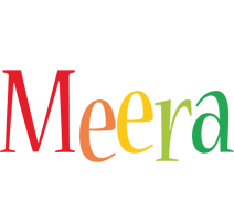 Meera birthday logo