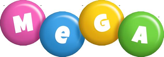 Mega candy logo