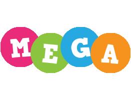 Mega friends logo