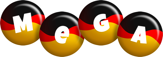 Mega german logo