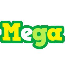 Mega soccer logo
