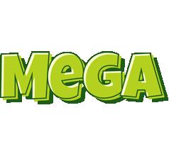 Mega summer logo