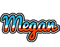 Megan america logo