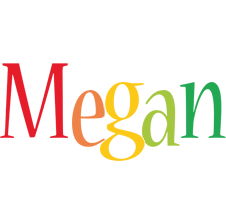 Megan birthday logo