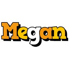 Megan cartoon logo