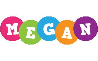 Megan friends logo