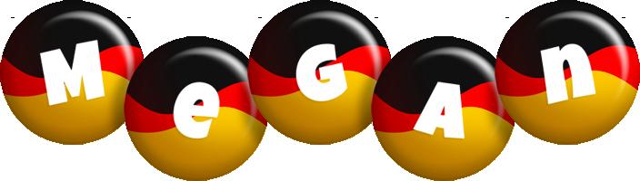 Megan german logo