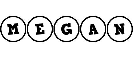 Megan handy logo