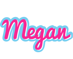 Megan popstar logo