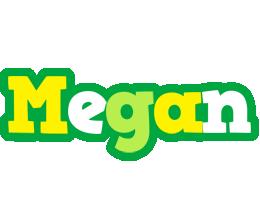 Megan soccer logo