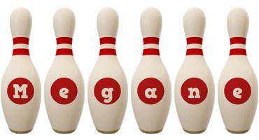Megane bowling-pin logo
