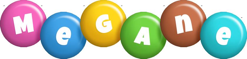 Megane candy logo
