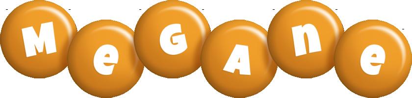 Megane candy-orange logo