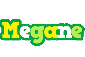 Megane soccer logo